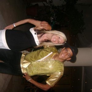 This is me & a guy off holiday (Can't remember his name)