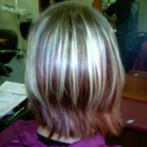 colour and cut before