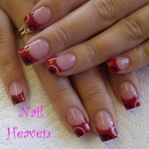 paperclip design 2nd place salon nail art birmingham 07