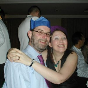 Me & My Hubs Christmas 2006