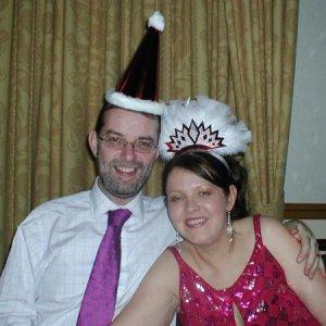 Me & My Hubs Christmas 2005