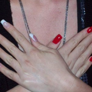 Lynsay's comp nails L&P excel'08 7th place