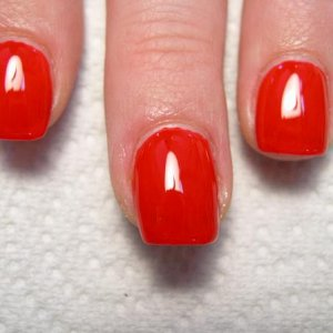Colored Gel Application