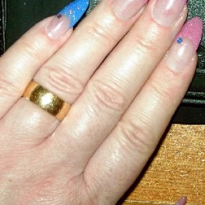 pink and blue pinky !!!