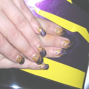 Nails to match a Fireblade