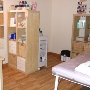 My New Little Beauty Room - Home Salon  Just moved house and here is a photo of my new home salon.