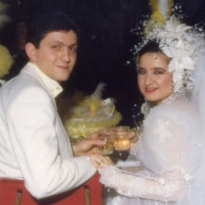 Our Wedding pic  Me and hubby on our happiest day, 17yrs ago.