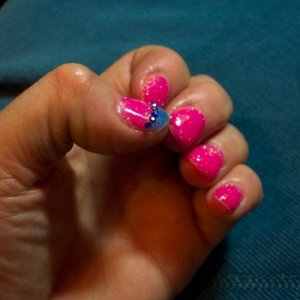 """Christrio gel system  This is my first proper attempt at using Christrio coloured gels. The pink is called """"Shocking Pink"""" and the blue """"Electric Blue""""."""
