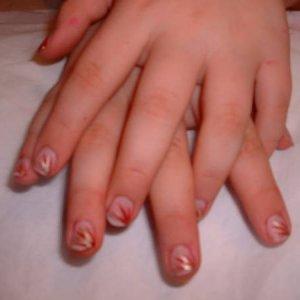 daughters nail art