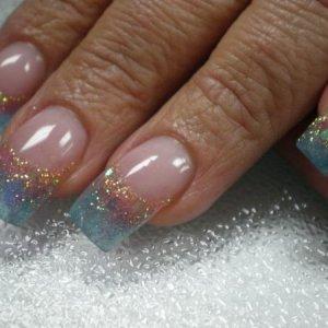 glitter, mylar and gel art color