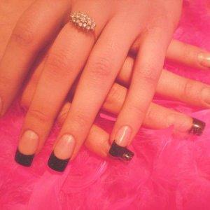 Tanya, INM black glitter