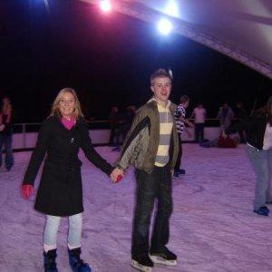 sarah and nathan ice skating