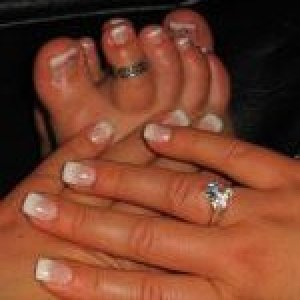 Gel nails and toes for spring!  My first pedique of the season!