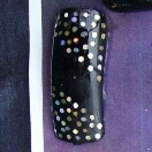 nail art  i did this nail for my mum as she likes black nail polish
