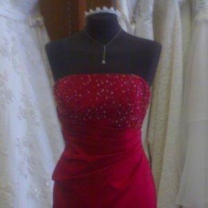 My dress closer!