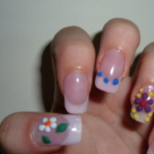 3d flowers  was bored so tried these colours