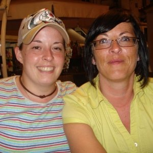 Me and My other sister Donna (she is nadines twin)