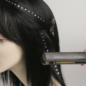 you can use hair gemz in any design you wish...simple to apply , long lasting, so shiney, so effective...
