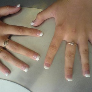 ACRYLICS REVERSE FRENCH