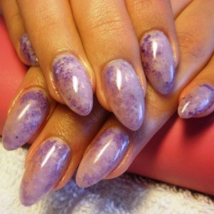 colour gels (only 1 purple mixed with white and black)