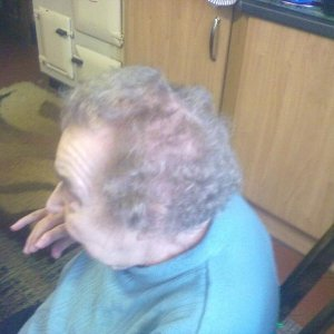 My first perm (side)
