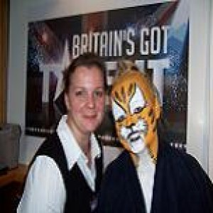 Britains Got Talent 2007 Full Tiger Body painting