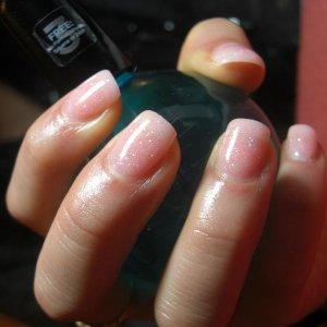 Akzentz gel with glitter mix