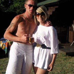 sean and me - france 2009 xx