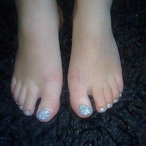Silver Twinkle/Rockstar toes