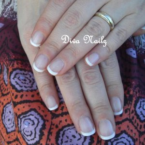 First go with Dashing Diva and Shellac...