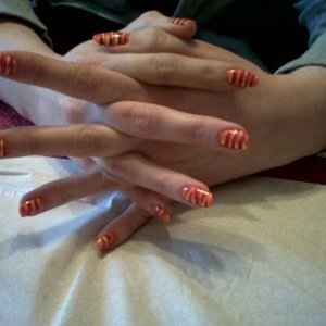 Kats holiday nails 1