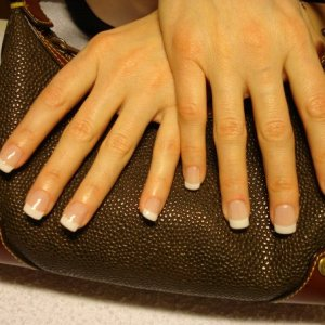 Bio Sculpture Gel Nails - French Tips