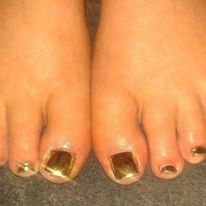 minx gold lightening