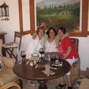 June 2010, Gigi and Sandi and I