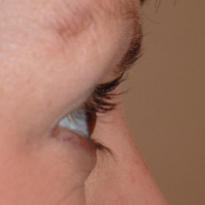 LVL LASHES BEFORE - SIDE