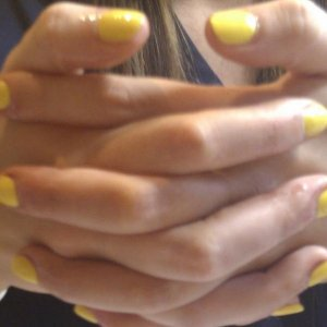 CND Yellow looks Lovely and Sunny