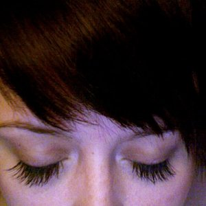 A friend's lashes