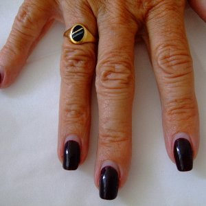 Shellac after 3 weeks - not a chip, crack or lift in sight. Seeing is believing....