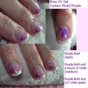 Brisa Purple 3 colour mix 3 pics