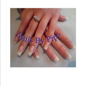 another set using the new creative powders. Its so easy to extend the nail bed now.