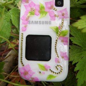 L&P flower art on my phone!