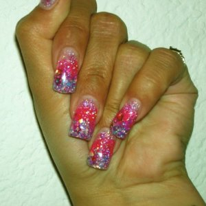 Lechat Color Gel and Glitters...
