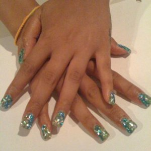 LeChat Spritzer gels and Glitter