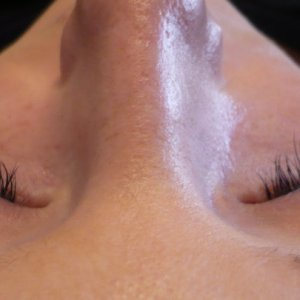 Lash extensions one of my first sets i did