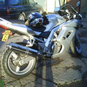 I love my bike x xx Foxy Roxy the Silver Dream Machine