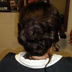 Kayla's prom hair & makeup