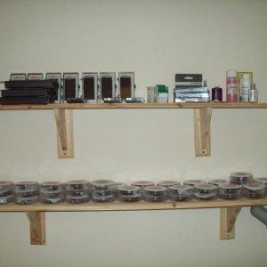 lash shelves