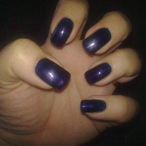 My Gelish nails Deep sea