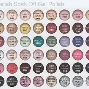 gelishcolor chart 48