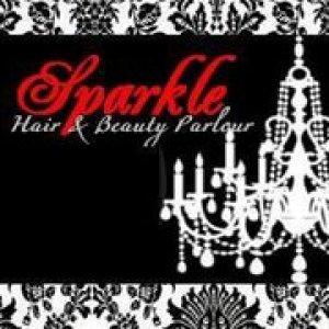 sparkle hair and beauty